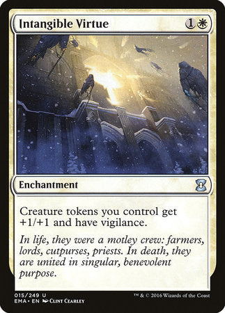 Intangible Virtue [Eternal Masters] | Boutique FDB TCG