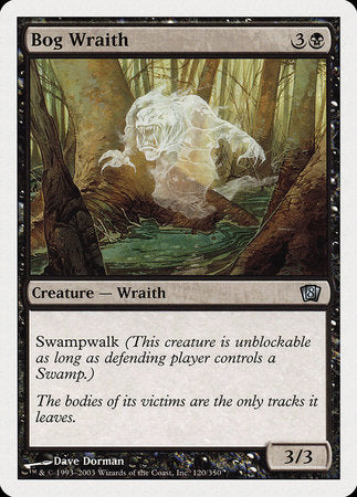 Bog Wraith [Eighth Edition] | Boutique FDB TCG