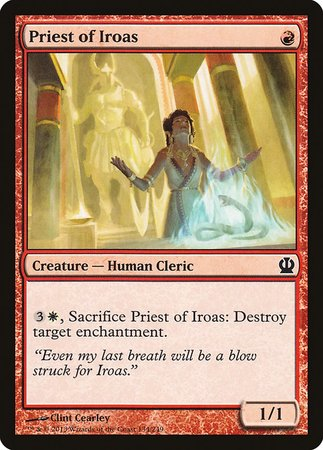 Priest of Iroas [Theros] | Boutique FDB TCG