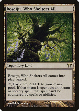 Boseiju, Who Shelters All [Champions of Kamigawa] | Boutique FDB TCG