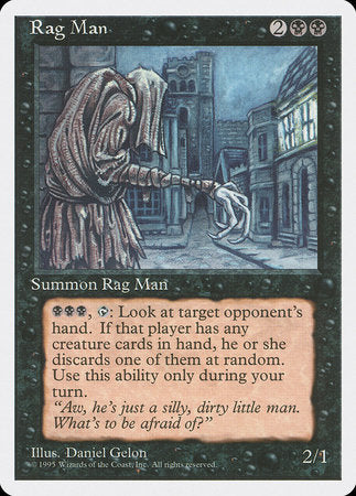 Rag Man [Fourth Edition] | Boutique FDB TCG