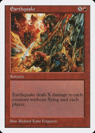 Earthquake [Fifth Edition] | Boutique FDB TCG