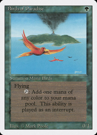 Birds of Paradise [Revised Edition] | Boutique FDB TCG