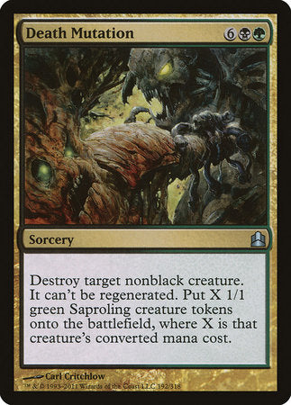 Death Mutation [Commander 2011] | Boutique FDB TCG
