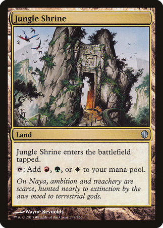 Jungle Shrine [Commander 2013] | Boutique FDB TCG