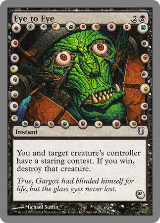 Eye to Eye [Unhinged] | Boutique FDB TCG