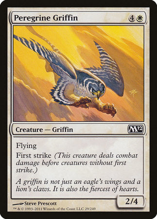 Peregrine Griffin [Magic 2012] | Boutique FDB TCG