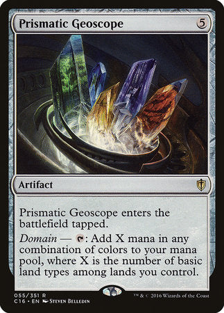 Prismatic Geoscope [Commander 2016] | Boutique FDB TCG