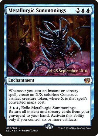 Metallurgic Summonings [Kaladesh Promos] | Boutique FDB TCG