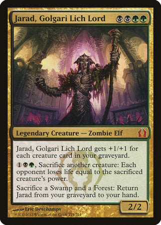 Jarad, Golgari Lich Lord [Return to Ravnica] | Boutique FDB TCG