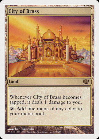 City of Brass [Eighth Edition] | Boutique FDB TCG