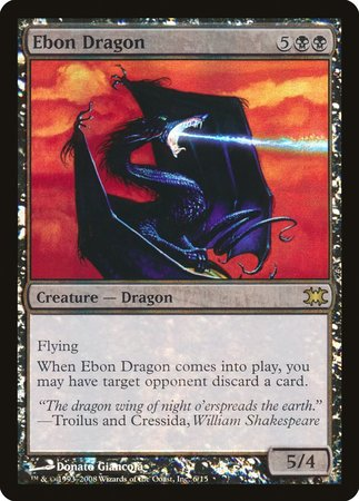 Ebon Dragon [From the Vault: Dragons] | Boutique FDB TCG