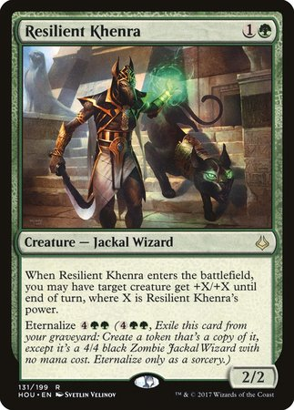 Resilient Khenra [Hour of Devastation] | Boutique FDB TCG