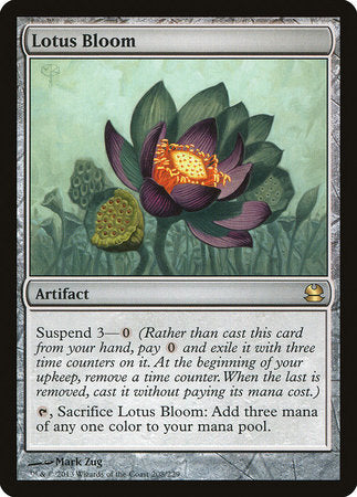 Lotus Bloom [Modern Masters] | Boutique FDB TCG