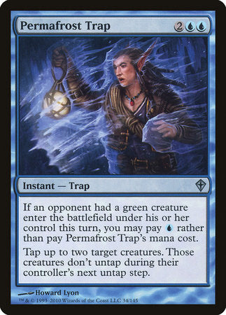 Permafrost Trap [Worldwake] | Boutique FDB TCG