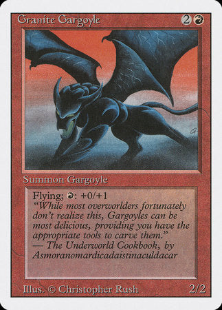 Granite Gargoyle [Revised Edition] | Boutique FDB TCG