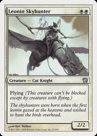 Leonin Skyhunter [Ninth Edition] | Boutique FDB TCG