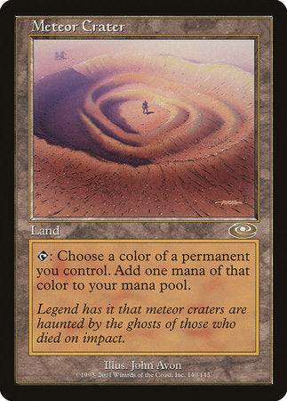 Meteor Crater [Planeshift] | Boutique FDB TCG