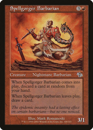 Spellgorger Barbarian [Judgment] | Boutique FDB TCG