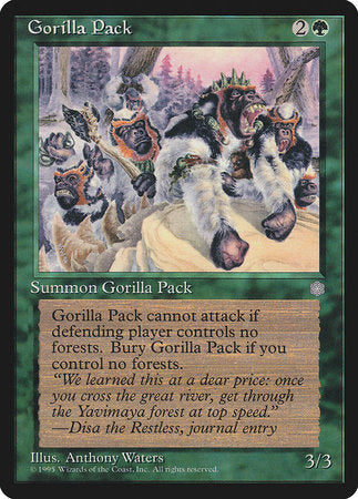 Gorilla Pack [Ice Age] | Boutique FDB TCG