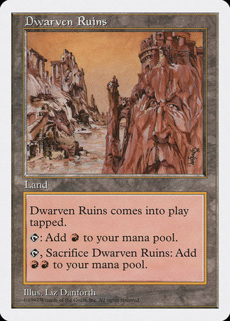 Dwarven Ruins [Fifth Edition] | Boutique FDB TCG