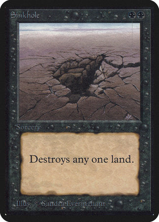 Sinkhole [Limited Edition Alpha] | Boutique FDB TCG