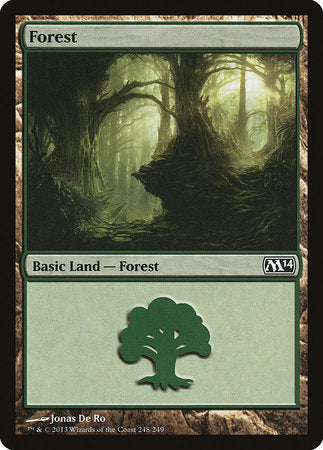 Forest (248) [Magic 2014] | Boutique FDB TCG