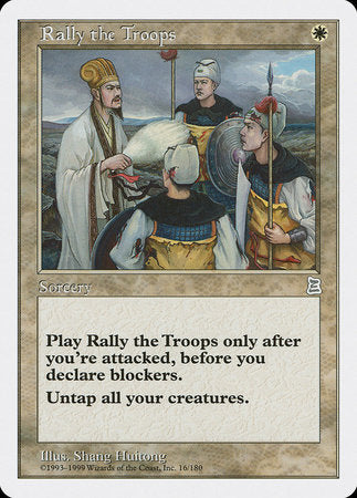 Rally the Troops [Portal Three Kingdoms] | Boutique FDB TCG