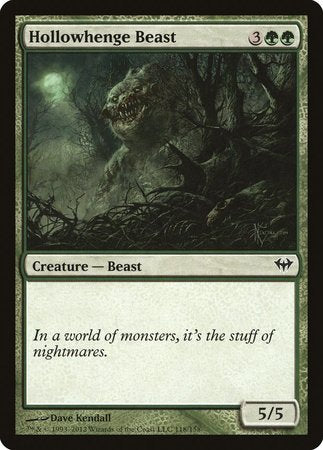 Hollowhenge Beast [Dark Ascension] | Boutique FDB TCG
