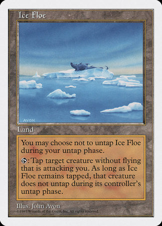 Ice Floe [Fifth Edition] | Boutique FDB TCG
