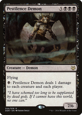 Pestilence Demon [Duel Decks: Nissa vs. Ob Nixilis] | Boutique FDB TCG