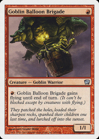 Goblin Balloon Brigade [Ninth Edition] | Boutique FDB TCG