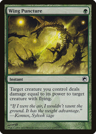 Wing Puncture [Scars of Mirrodin] | Boutique FDB TCG
