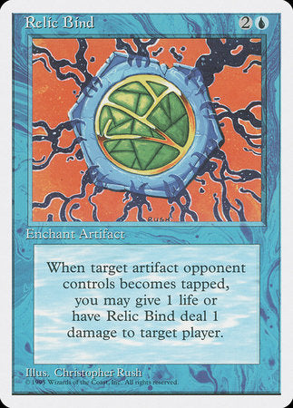 Relic Bind [Fourth Edition] | Boutique FDB TCG