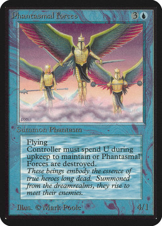 Phantasmal Forces [Limited Edition Alpha] | Boutique FDB TCG