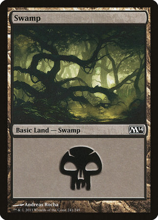 Swamp (241) [Magic 2014] | Boutique FDB TCG