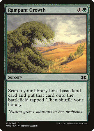 Rampant Growth [Modern Masters 2015] | Boutique FDB TCG