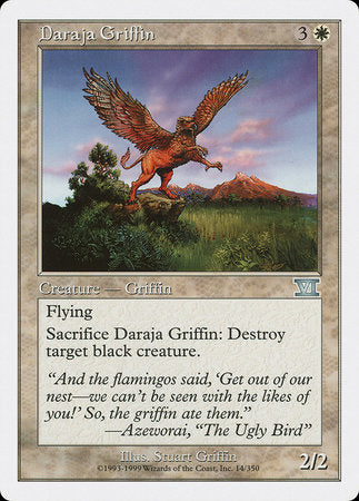 Daraja Griffin [Classic Sixth Edition] | Boutique FDB TCG