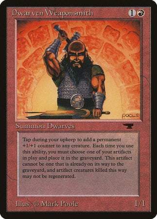 Dwarven Weaponsmith [Antiquities] | Boutique FDB TCG