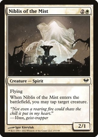 Niblis of the Mist [Dark Ascension] | Boutique FDB TCG
