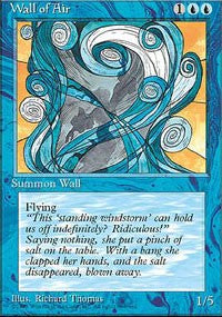 Wall of Air [Fourth Edition] | Boutique FDB TCG
