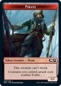 Pirate Token [Core Set 2021] | Boutique FDB TCG