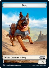 Dog Token [Core Set 2021] | Boutique FDB TCG