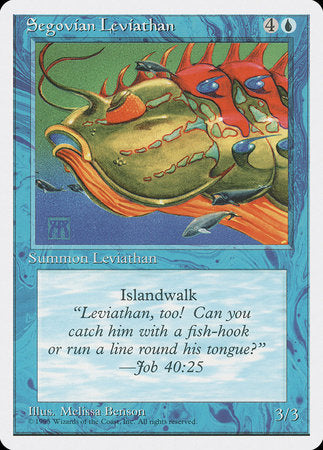 Segovian Leviathan [Fourth Edition] | Boutique FDB TCG