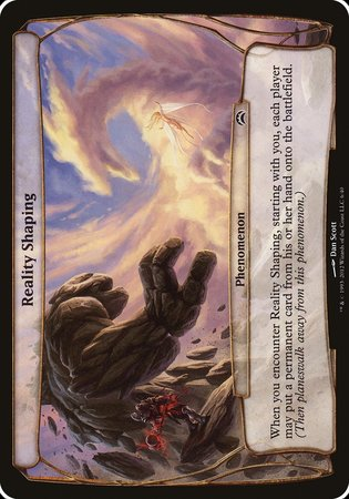 Reality Shaping (Planechase 2012) [Planechase 2012 Planes] | Boutique FDB TCG