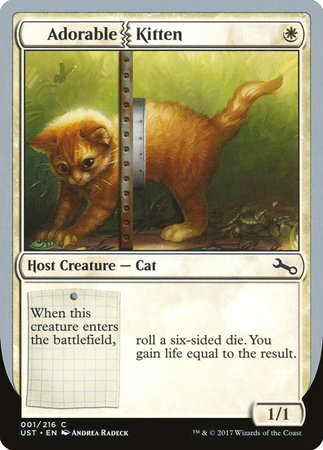 Adorable Kitten [Unstable] | Boutique FDB TCG