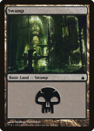 Swamp (295) [Ravnica: City of Guilds] | Boutique FDB TCG