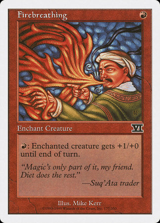 Firebreathing [Classic Sixth Edition] | Boutique FDB TCG