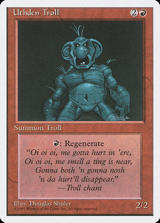 Uthden Troll [Fourth Edition] | Boutique FDB TCG