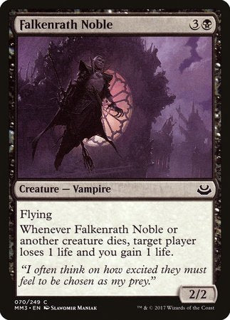 Falkenrath Noble [Modern Masters 2017] | Boutique FDB TCG